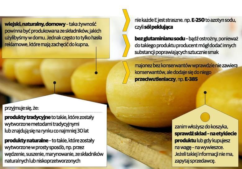 W dalszej części artykułu zobaczysz między innymi infografikę, dzięki której dowiesz się jaka powinna być naprawdę zdrowa żywność.
