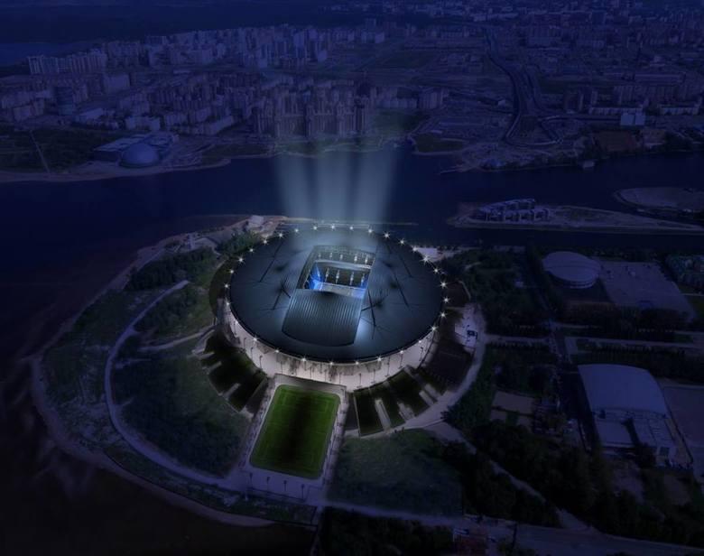 Zenit Arena, Petersburg: 68 172 (nowy stadion, w miejsce stadionu Kirov). Nazywany również Stadion Kriestowskij i Piter Arena.Drużyna: Zenit Sankt P