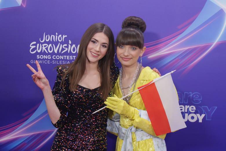 Ceremonia otwarcia Eurowizji Junior 2019 w Katowicach z Roksaną Węgiel i Wiktorią Gabor