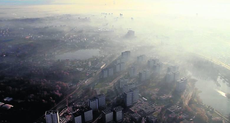 """Smog na Śląsku dusi mieszkańców. To najbardziej zanieczyszczony region Polski. """"Całkowity zakaz spalania węgla to konieczność"""""""