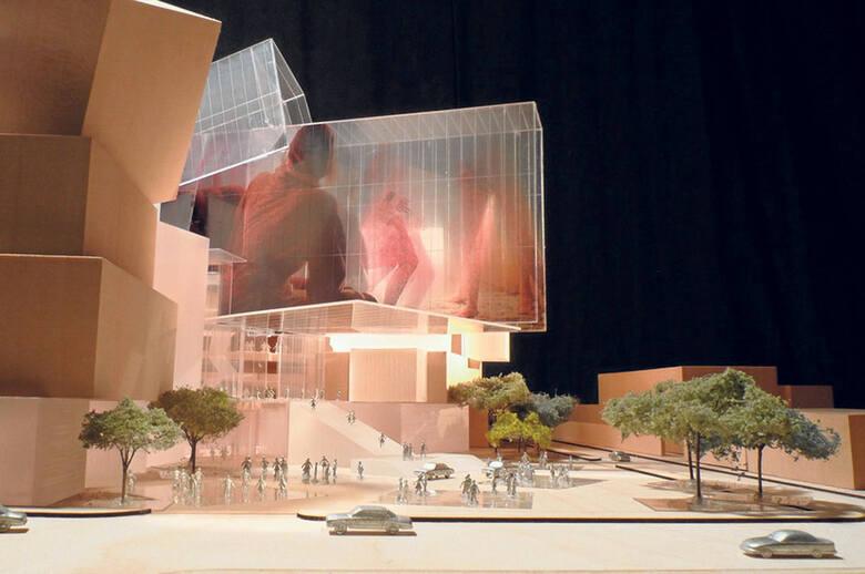 Tak miało być w Łodzi (Camerimage Łódź Center wg koncepcji Franka Gehry'ego)