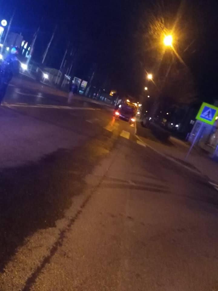 Hajnówka: Zderzenie samochodów osobowych na ul. Stefana Batorego [ZDJĘCIA]