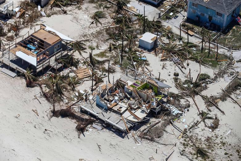 Zniszczenia na Bahamach