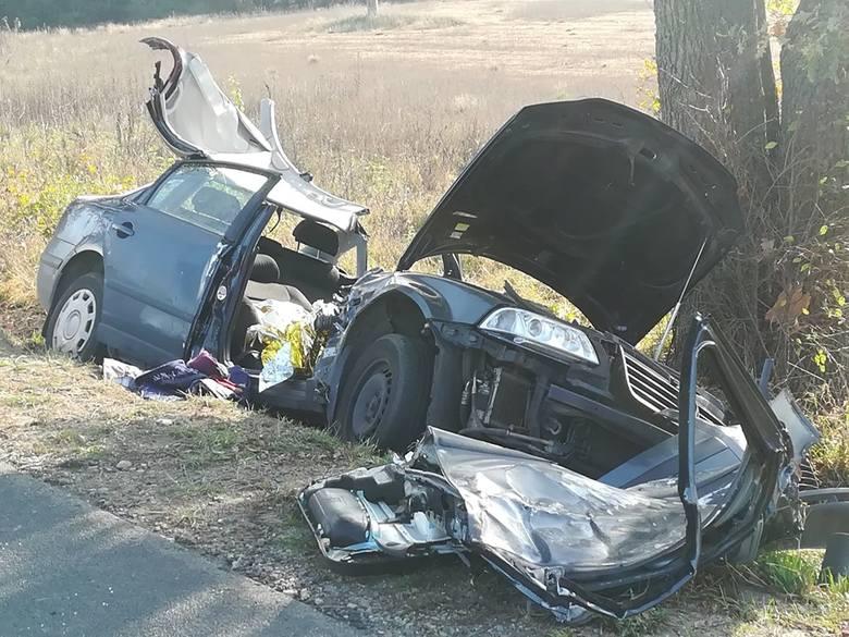 Wypadek w Ugniewie, 1.11.2019,