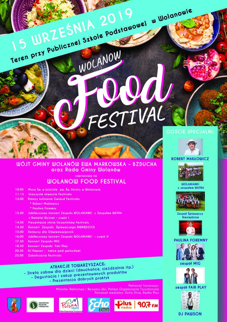 Na Wolanów Food Festival będzie gotował sam Robert Makłowicz