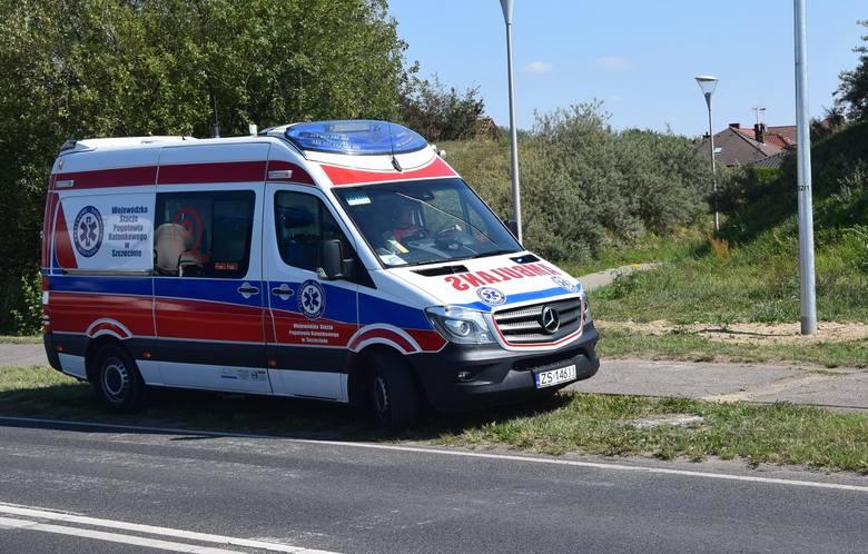 Na ulicy Broniewskiego w Staregardzie zderzyły się samochody