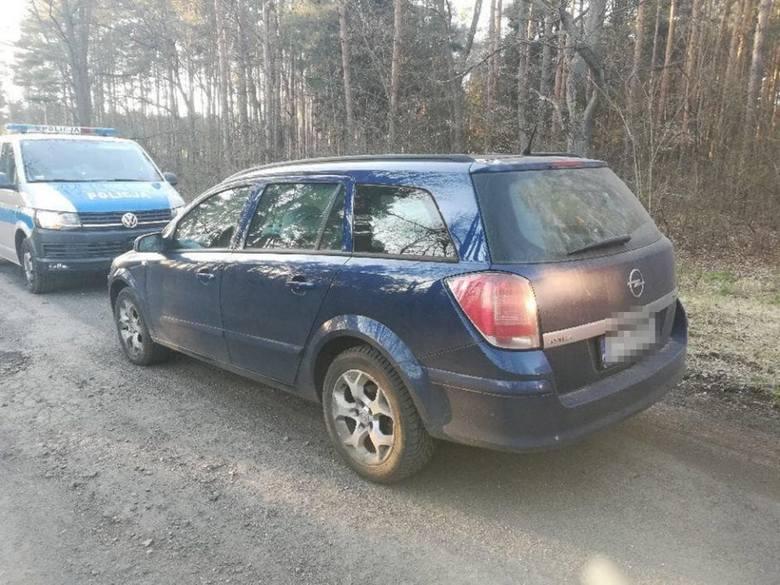 Pijany kierowca został zatrzymany w okolicy Leśniowa Wielkiego.