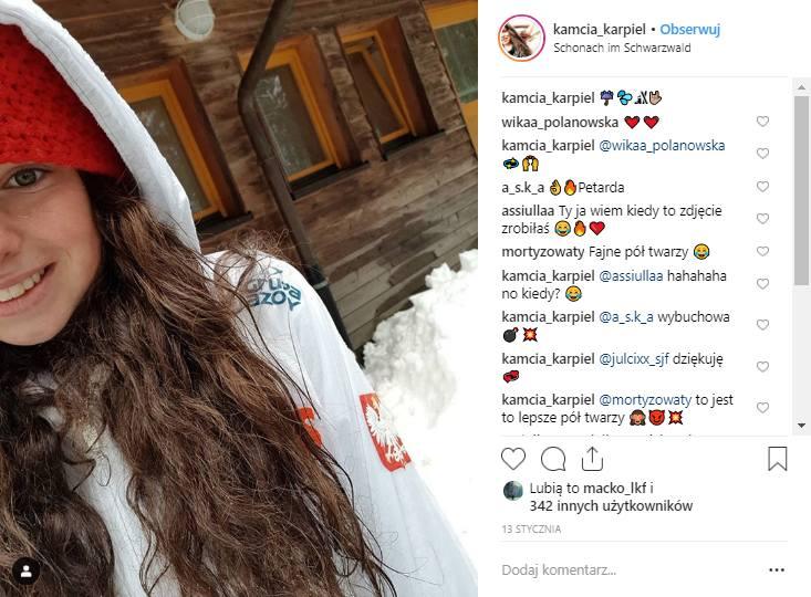 Kamila Karpiel została trzecią Polką, która zdobyła punkty w Pucharze Świata w skokach narciarskich. W piątkowym konkursie w Ljubnie zajęła 30. miejsce,