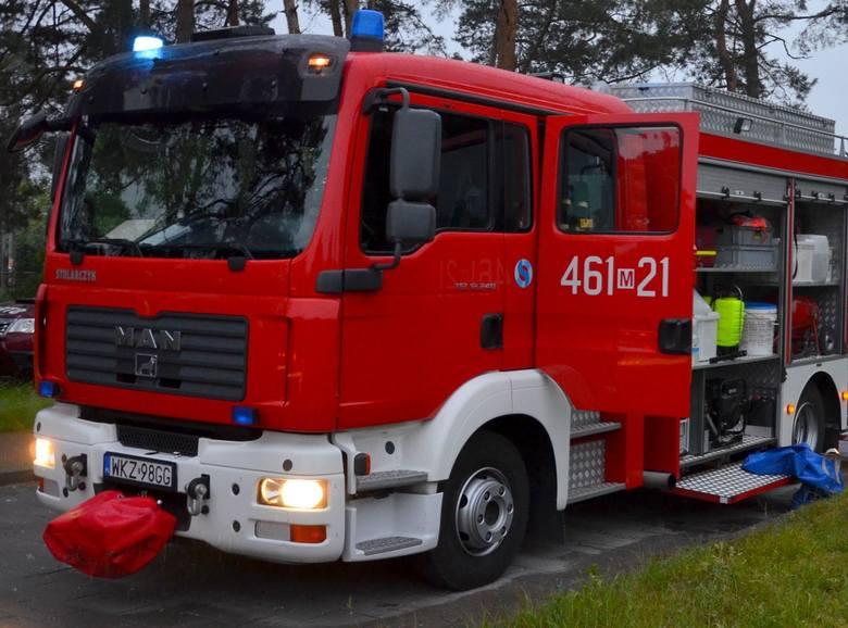 Pracowity i gorący lipiec dla strażaków z Kozienic