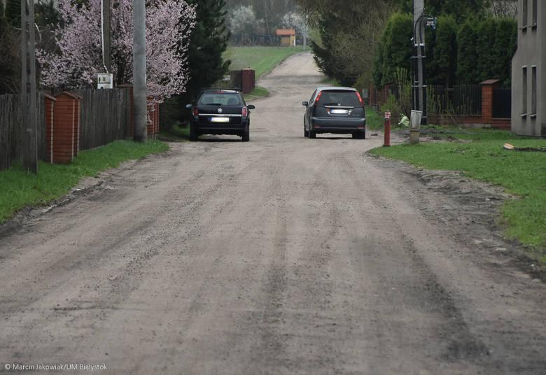 Na dwóch ulicach położonych na osiedlu Dojlidy Górne – Wigierskiej i Kolonia Dojlidy – zostaną wybudowane nowe nawierzchnie, chodniki, skrzyżowania.
