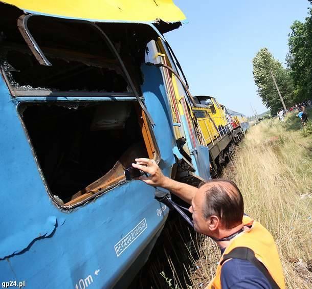 Wypadek kolejowy w Korzybiu