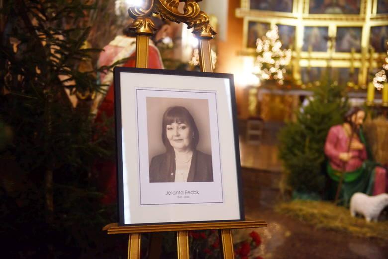 Ostatnie pożegnanie śp. Jolanty Fedak. Uroczystości pogrzebowe odbyły się 7 stycznia 2021 roku w konkatedrze św. Jadwigi Śląskiej i na cmentarzu komunalnym