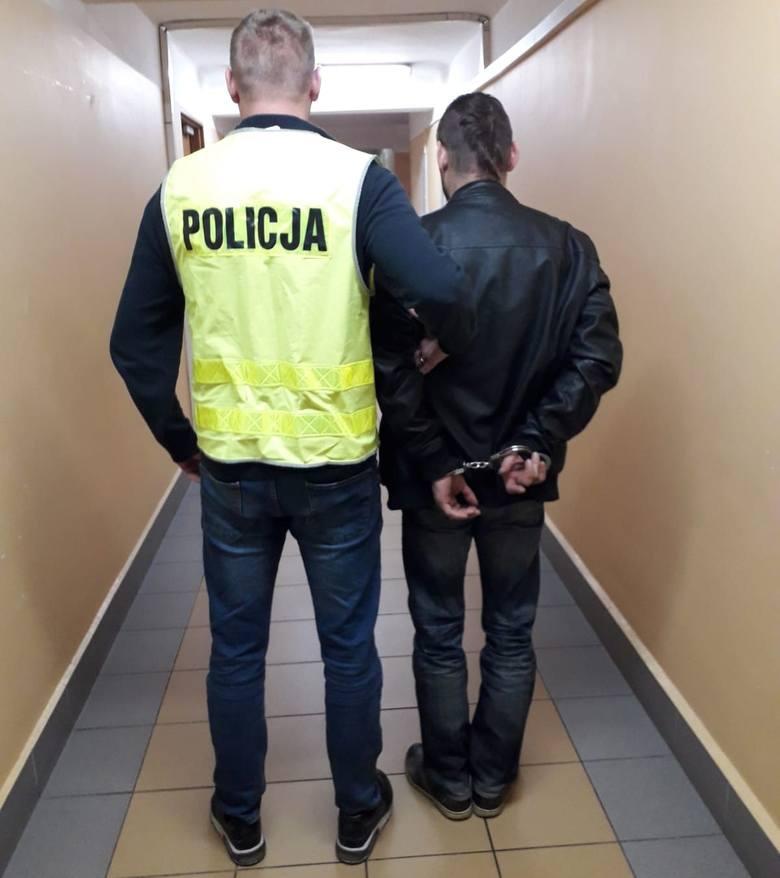 Podejrzewany mężczyzna został zatrzymany