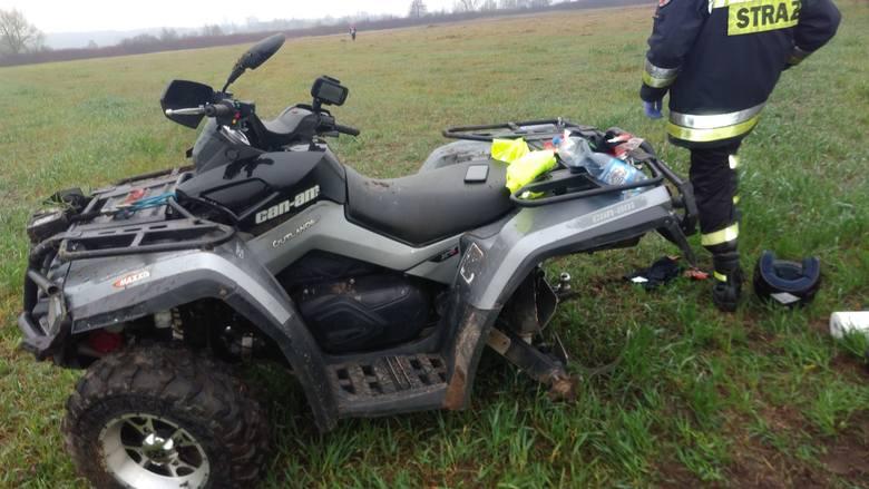W piątek, po godz. 12, na drodze gminnej w pobliżu miejscowości Osowiec doszło do wypadku.