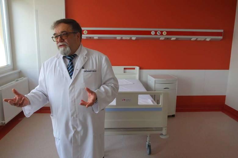 Od września w Poznaniu rozpocznie działalność Centrum Zdrowia Psychicznego. Na zdjęciu prezes CM HCP Lesław Lenartowicz