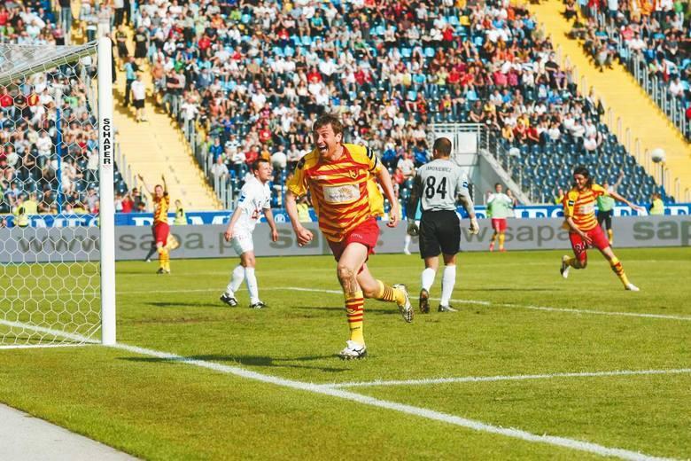Litwin na stałe zapisał się w historii Jagiellonii po tym jak w 2010 roku strzelił jedynego gola w finale Pucharu Polski z Pogonią Szczecin.