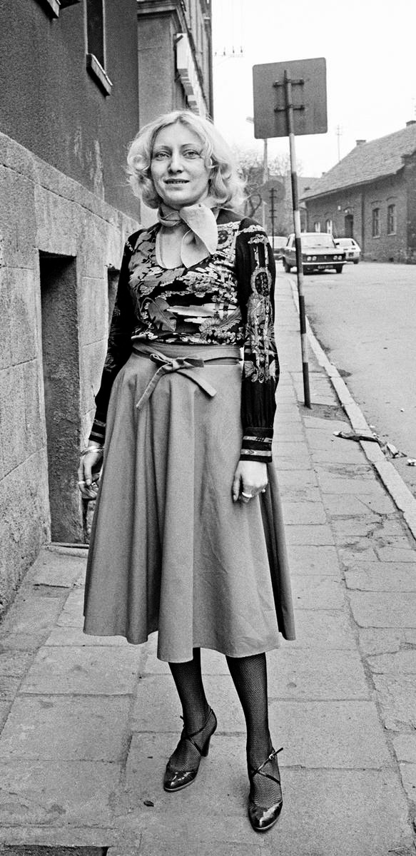 Pierwszy taki butik w peerelowskim mieście. Pani Gaba, co rudziankom prawdziwą modę pokazała