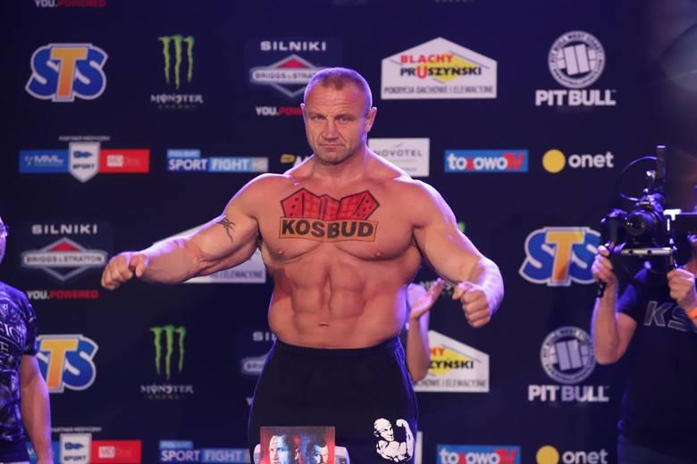 Mariusz Pudzianowski wraca na salę treningową!