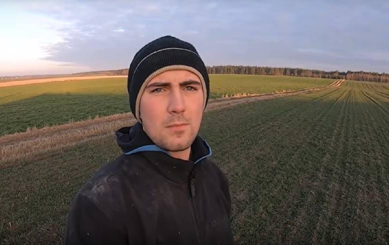 """""""Mam na imię Michał. Prowadzę gospodarstwo rolne w Borach Tucholskich - ponad 90 ha ziemi ornej. Dodatkowo zajmujemy się hodowlą trzody chlewnej."""