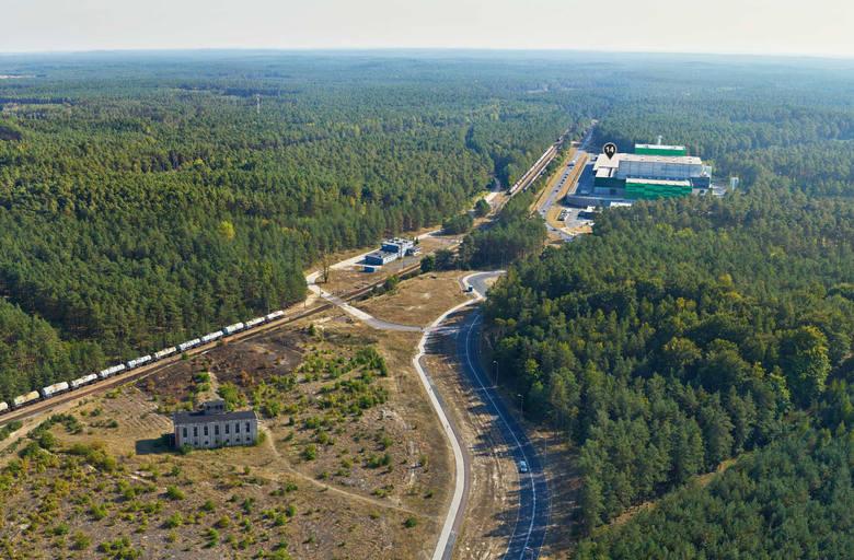 Inwestycje w Bydgoskim Parku Przemysłowo-Technologicznym robią wrażenie. Najlepiej widać to na zdjęciach wykonanych z drona. Wielkie centra logistyczne,