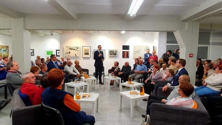 Premier Mateusz Morawiecki z wizytą w Myślenicach [ZDJĘCIA]