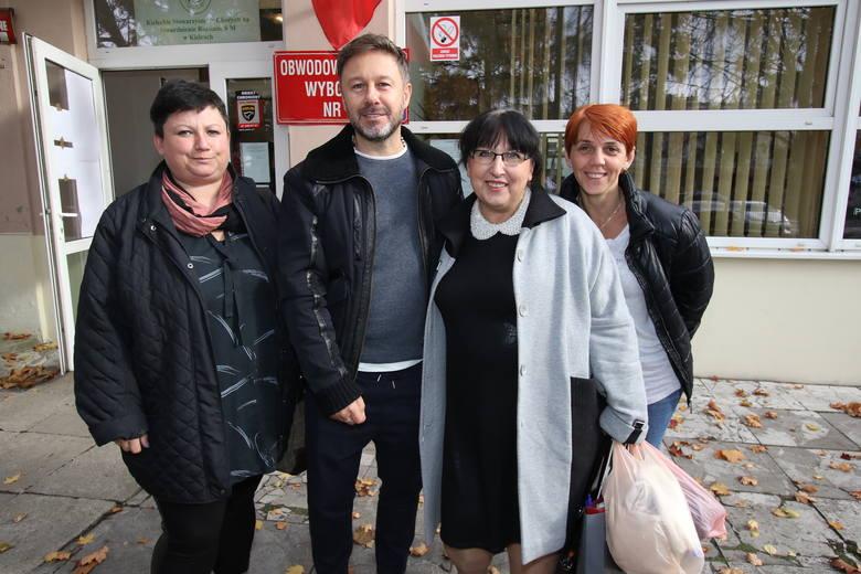 Znani ludzie głosowali w wyborach samorządowych w Kielcach (WIDEO, ZDJĘCIA)