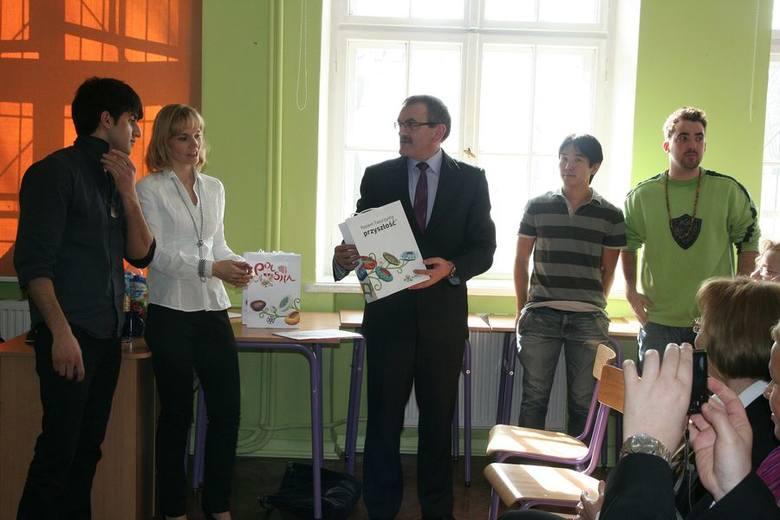 Wizyta we włocławskim LMK gości z organizacji AIESEC