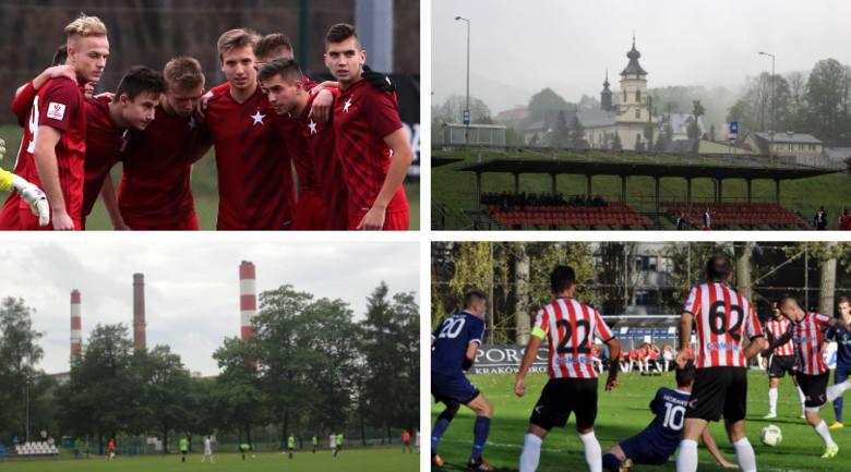 IV liga. 18 zespołów, jakie mają stadiony? Gdzie grają Cracovia II i Wisła II? [ZDJĘCIA]