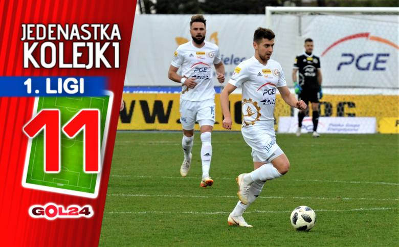 Hat-trick Nowaka. Jedenastka 19. kolejki Fortuna 1 Ligi według GOL24.pl!
