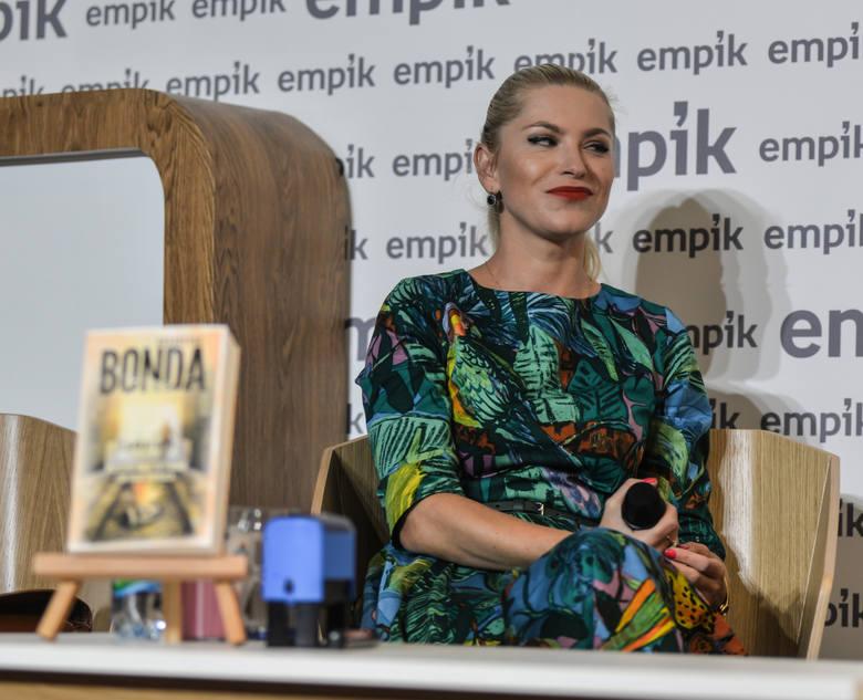 Spotkanie w Empiku w Galerii Bałtyckiej w Gdańsku w październiku 2016