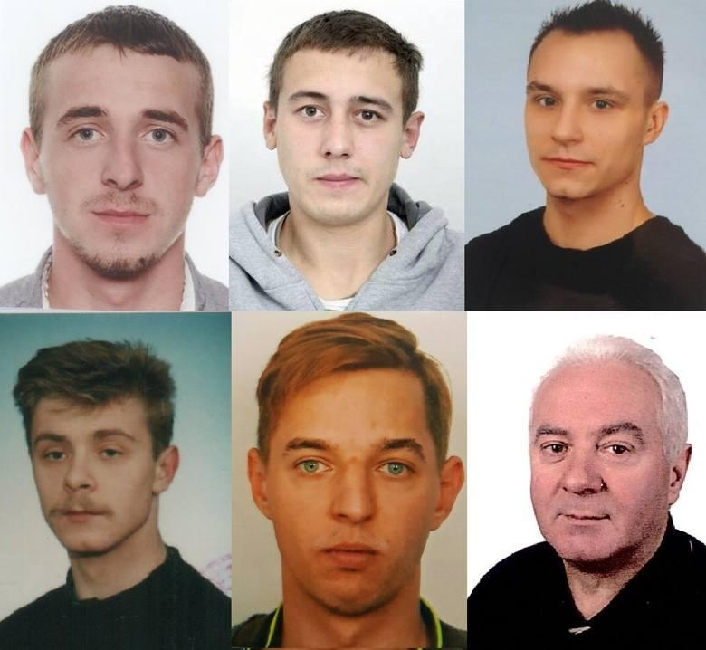 Oto lista mężczyzn, którzy są poszukiwani przez Komendę Wojewódzką Policji w Szczecinie. Materiał przygotowany na podstawie strony poszukiwani.policja.plZobacz