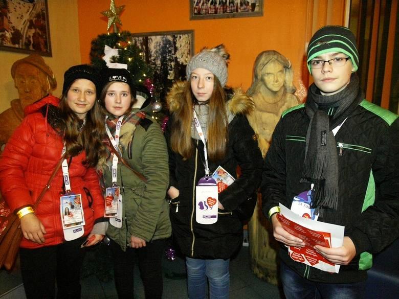 Wolontariusze kwestowali cały dzień na ulicach Myszyńca i Zalasa