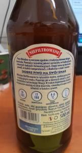 Uwaga, w partii piwa Miłosław Niefiltrowane odkryto fragmenty szkła.