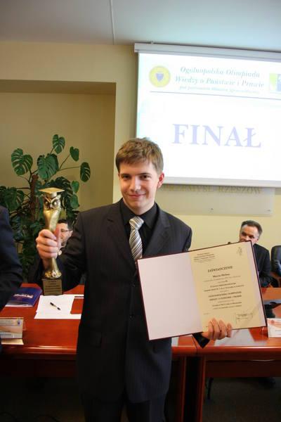 Marcin Michna, zdobywca I miejsca, nazywany jest olimpijskim zawodowcem.
