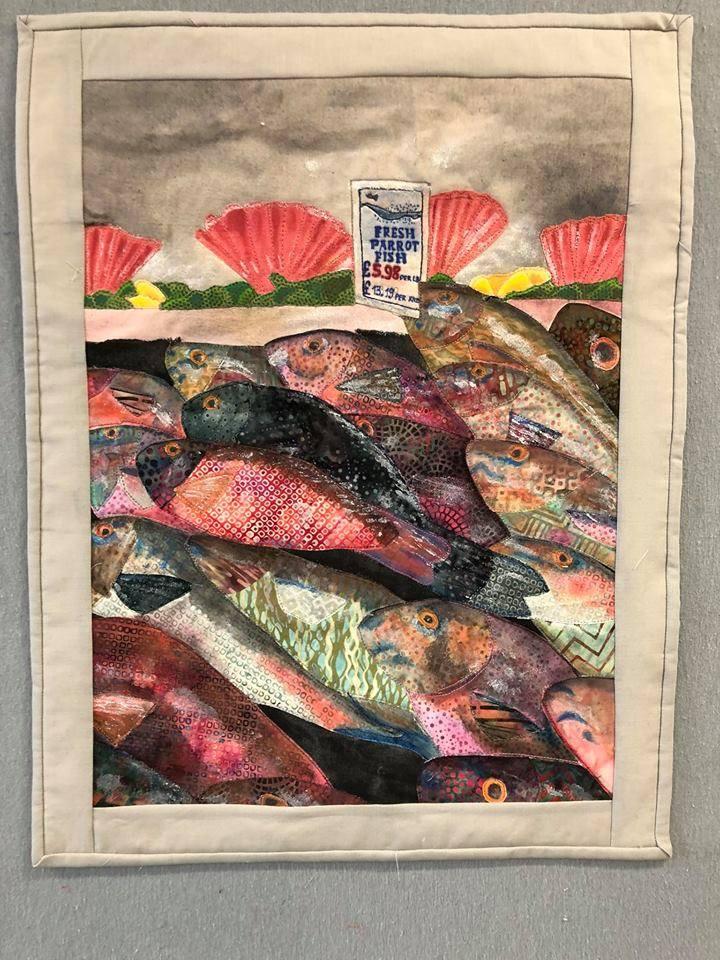 """Podłęże. Sztuka patchworku w Domu Kultury """"Inspiro"""""""