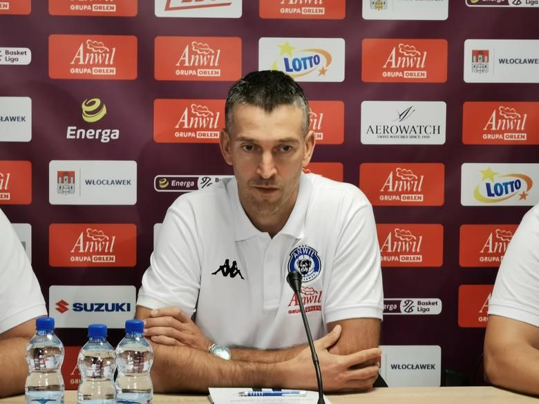 Dejan Mihevc przestał być trenerem Anwilu
