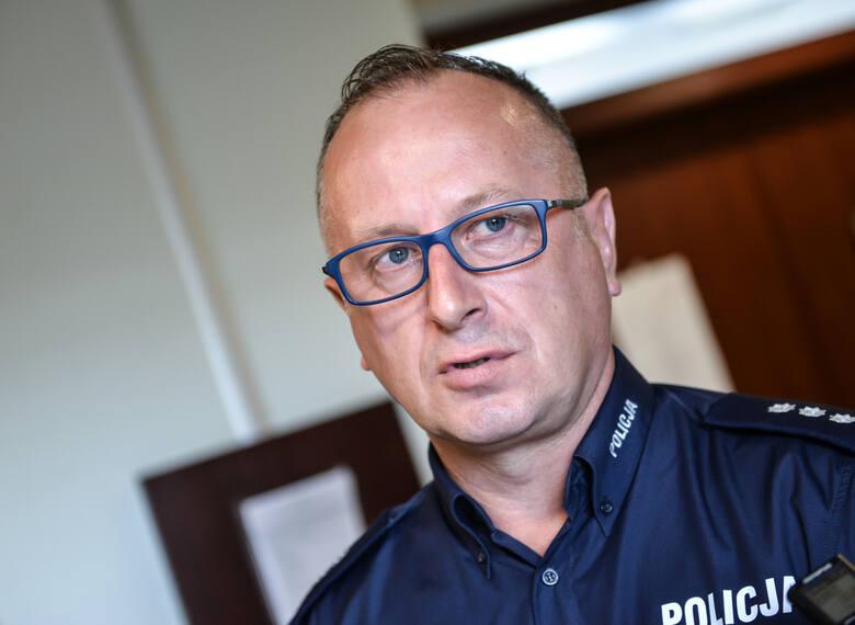 kom. Józef Partyka, przewodniczący zarządu wojewódzkiego NSZZ Policjantów