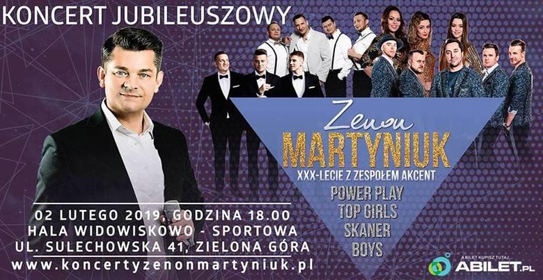 Zenek Martyniuk i zespół Akcent będą świętować swoje urodziny w Zielonej Górze! Gościnnie wystąpią: Boys, Skaner, Power Play i Top Girls
