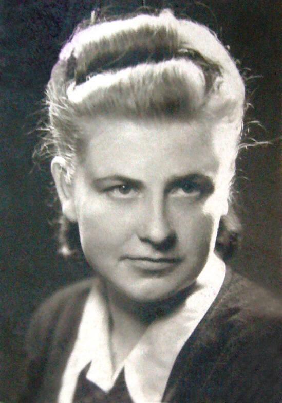 """Wanda Bortkiewicz z d. Czyżewska, ps. """"Basia"""""""