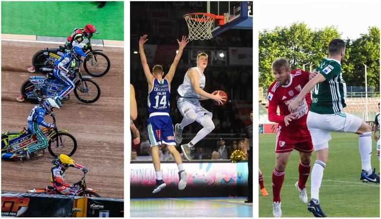 Początek indywidualnych mistrzostw świata na żużlu, drugie mecze półfinałów koszykarskich z udziałem Polskiego Cukru Toruń i Anwilu Włocławek, walka