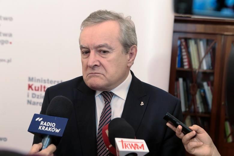 Przekwas jest pracownikiem Glińskiego nie jako ministra kultury, lecz konkretnie wicepremiera, a pensję wypłaca mu Kancelaria Premiera.