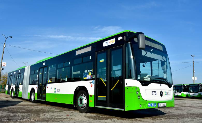 Miasto zapłaciło 29 mln 847 tys. zł. za osiemnaście autobusów marki Mercedes
