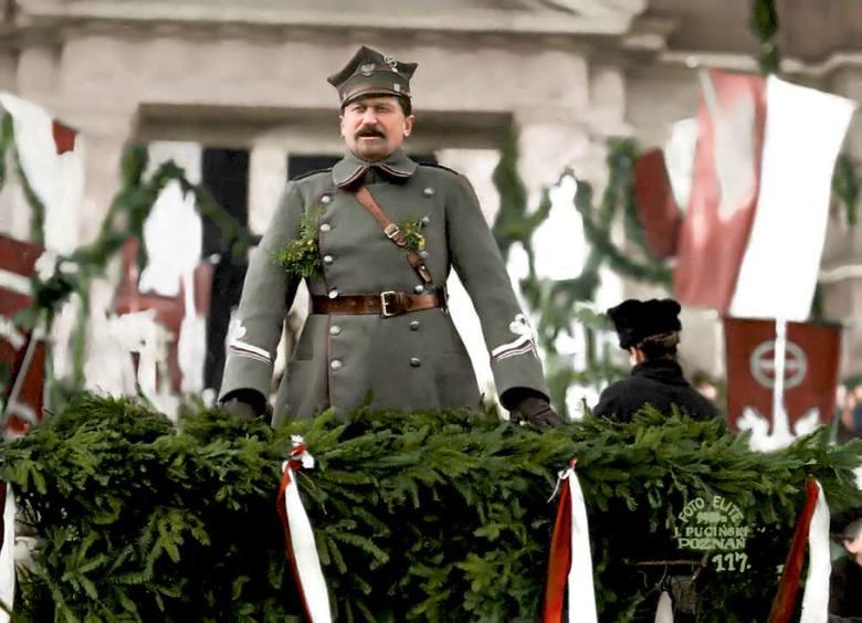 General Dowbor Muśnicki dowodził wielkopolską armią i włączył ją w struktury Wojska Polskiego