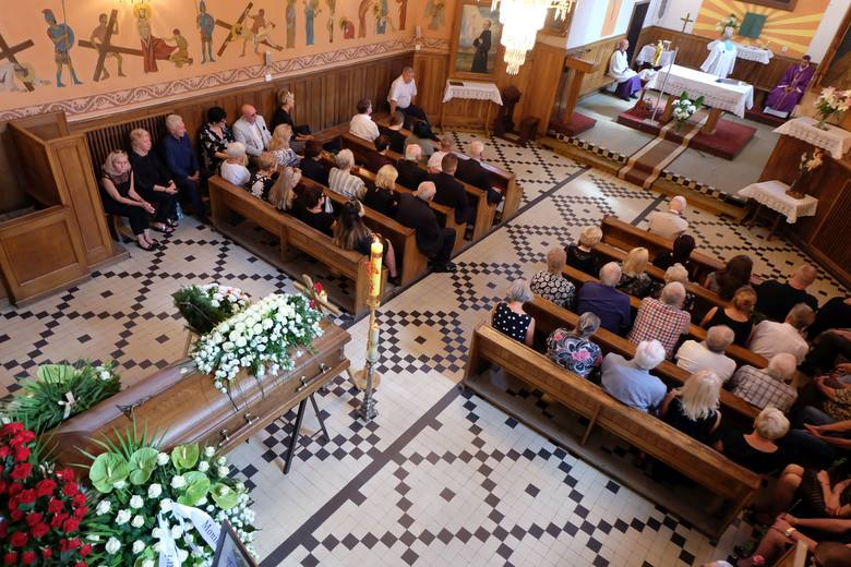 Pogrzeb Jarosława Dziemiana na cmentarzu farnym w Białymstoku (18.08.2018)