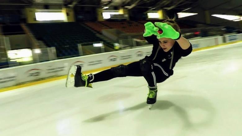Patrycja Dorosiewicz pasjonuje się m.in. freestylem na lodzie. Z kolegami założyła grupę Ice Skating Opole.