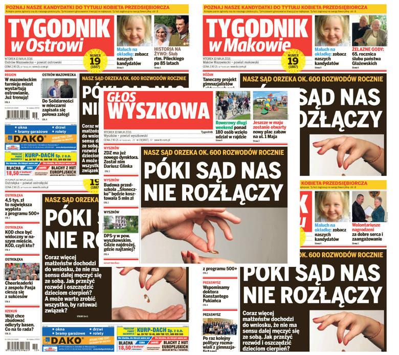 Nasze najnowsze gazety