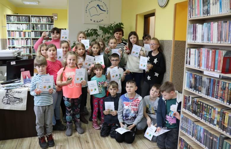 Gminna Biblioteka Publiczna  oraz Ośrodek Kultury Gminy Kikół przygotowały bogatą ofertę zajęć na czas ferii.  W programie znalazło się głośne czytanie,