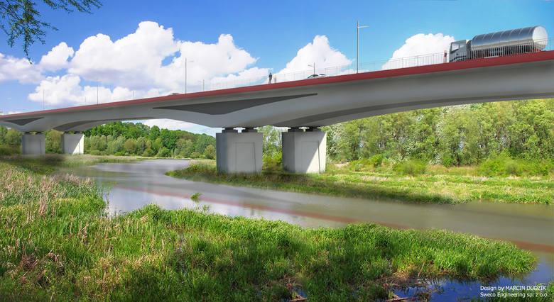 Droga między ulicą Podkarpacką i aleją Sikorskiego ma mieć łącznie nieco ponad 5 kilometrów. Wisłok przetnie mostem.