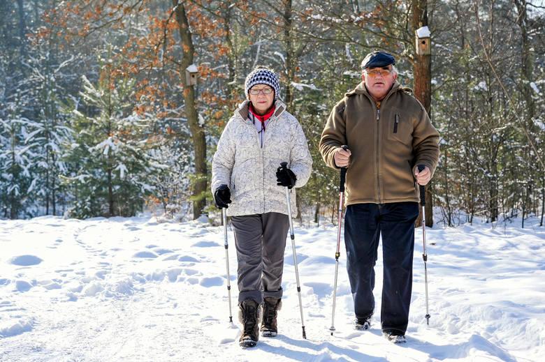 Nordic walking, seniorzy, aktywność fizyczna