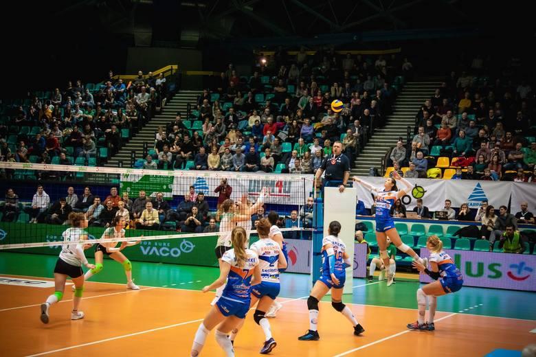 Fragment meczu #VolleyWrocław - E.Leclerc Radomka Radom.